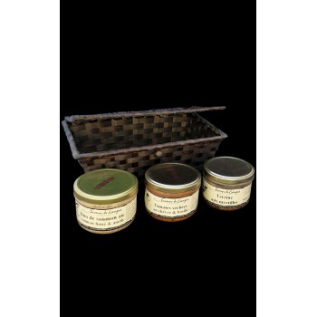 Coffret 3 terrines originales