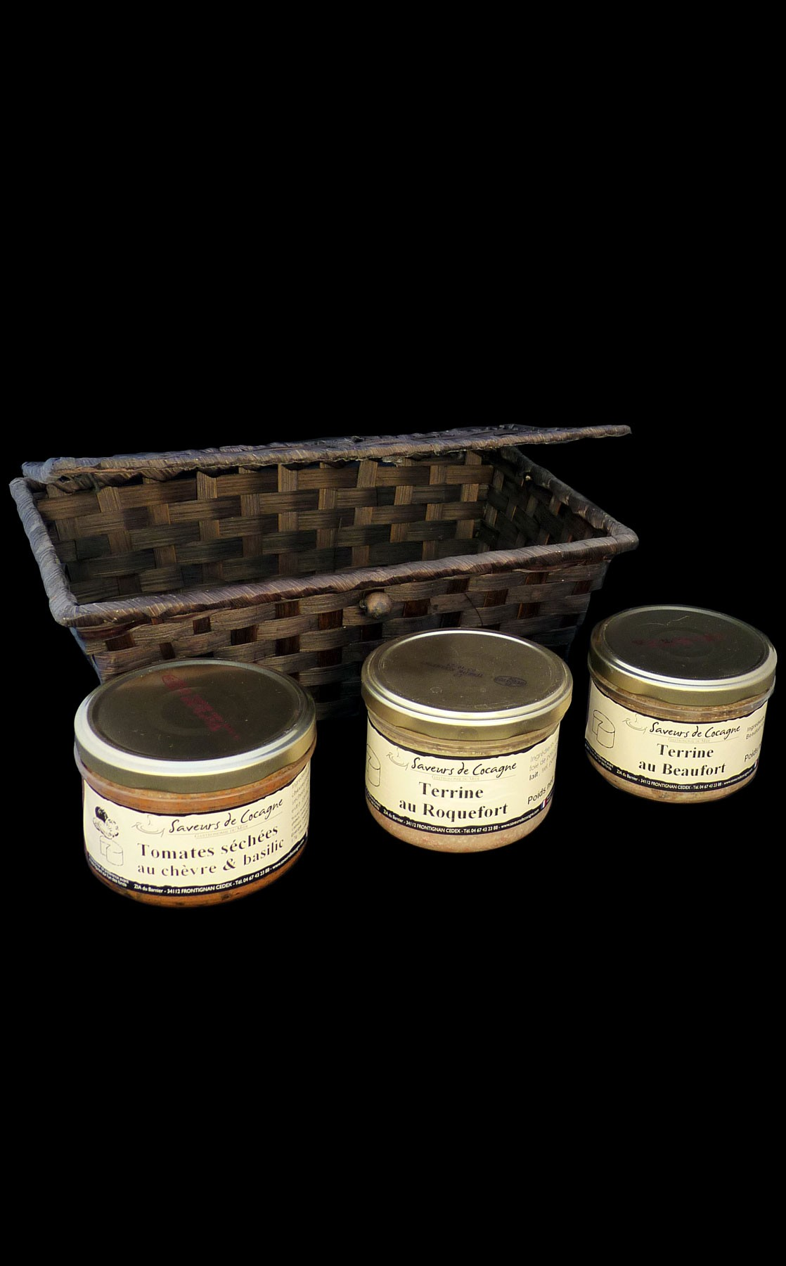 Coffret 3 terrines fromages
