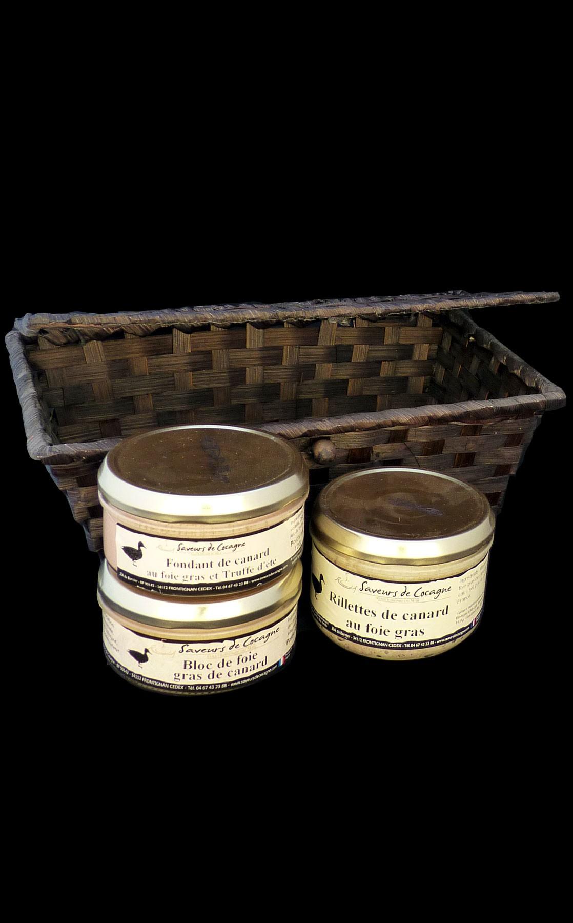 Coffret sur le thème du foie gras