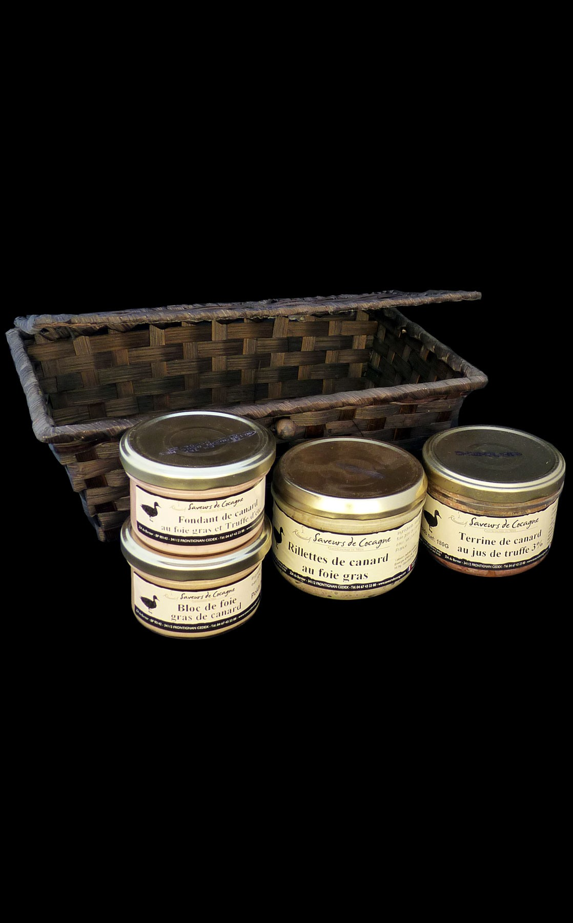 Coffret festif foie gras