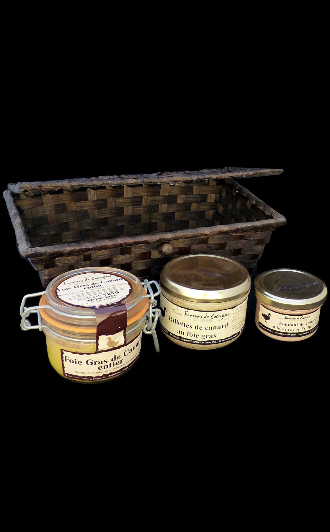 Coffret déclinaisons de foie gras