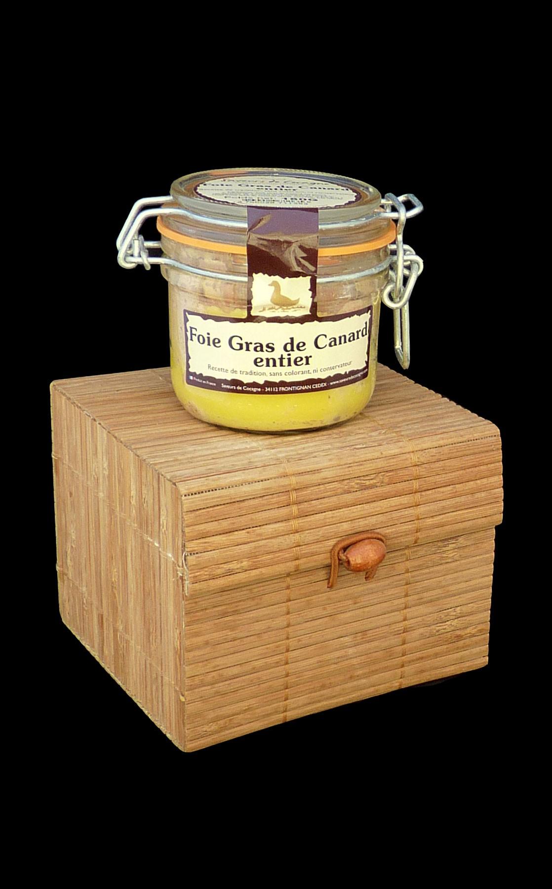 Coffret foie gras 180g