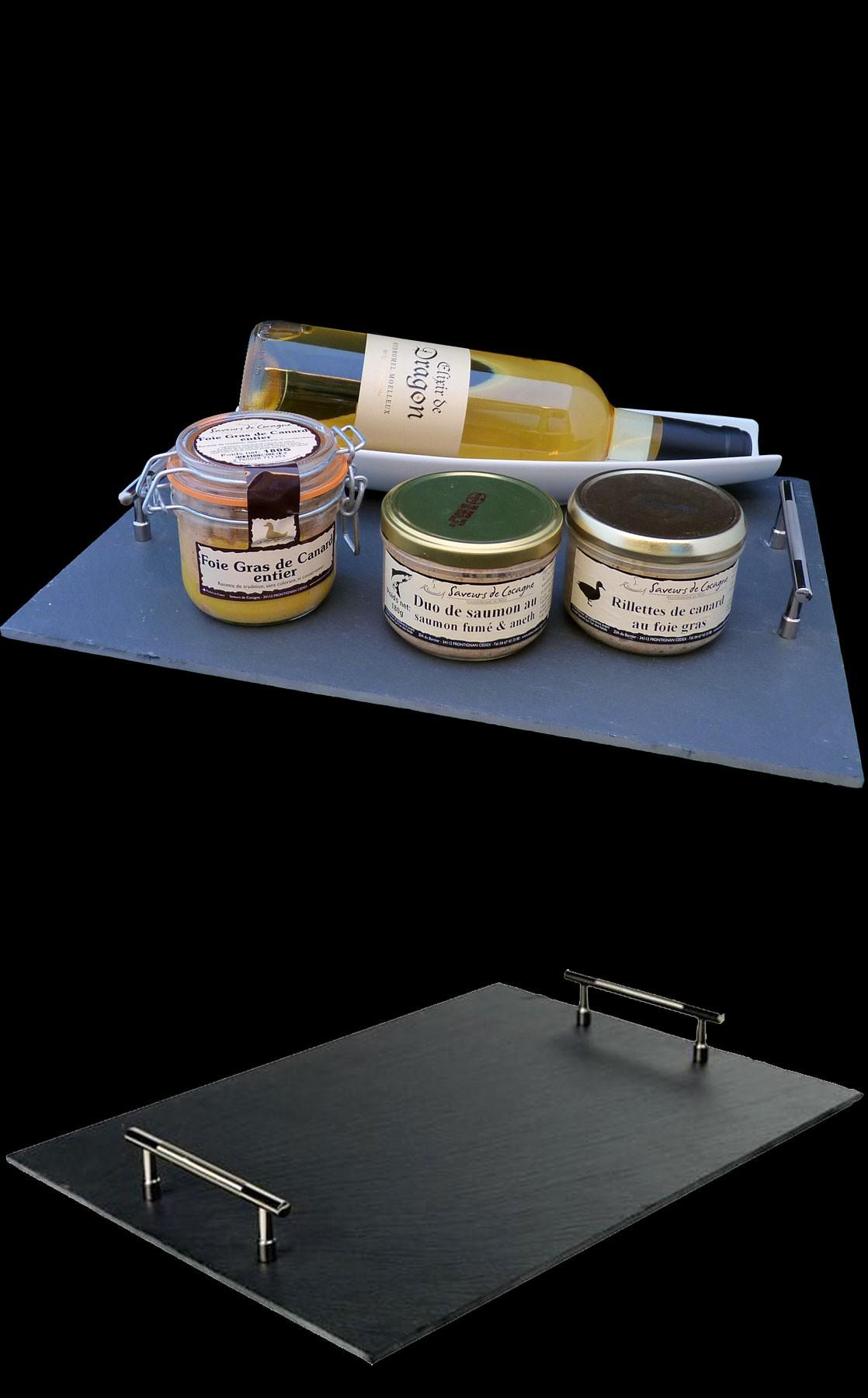 Plateau foie gras 180g