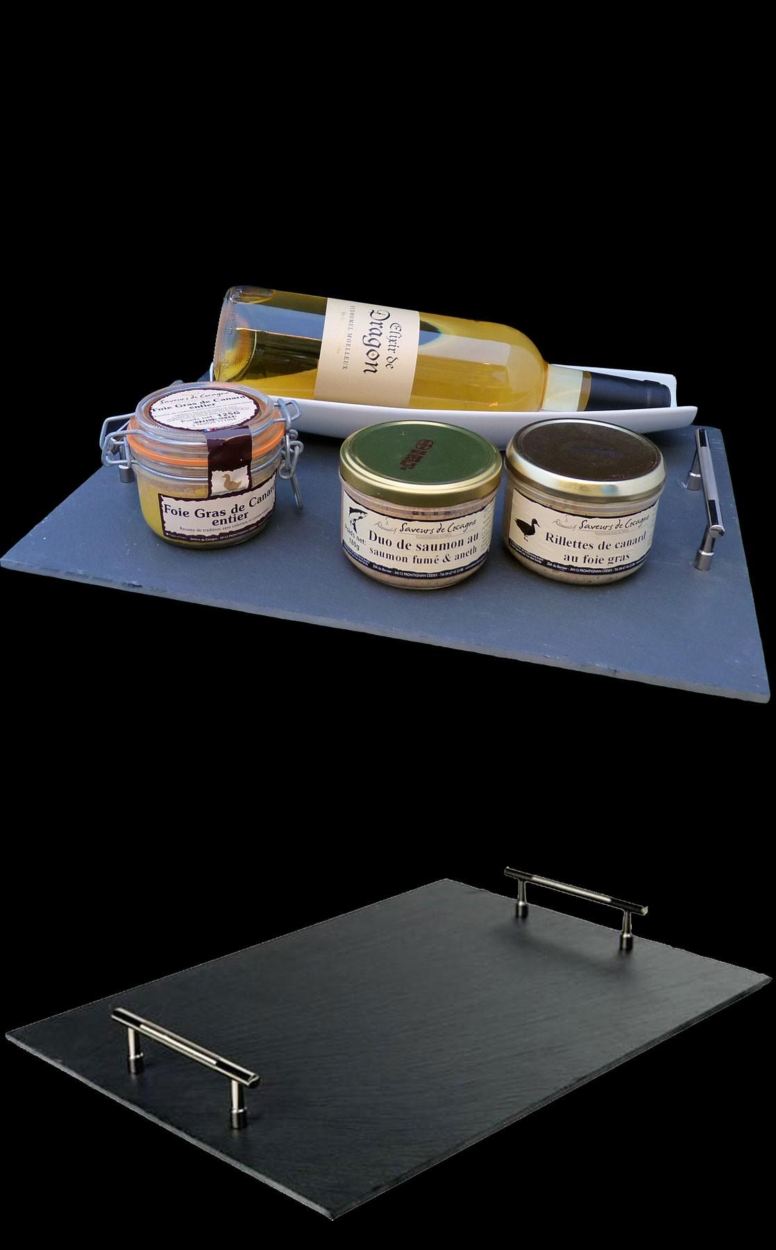 Plateau foie gras 130g