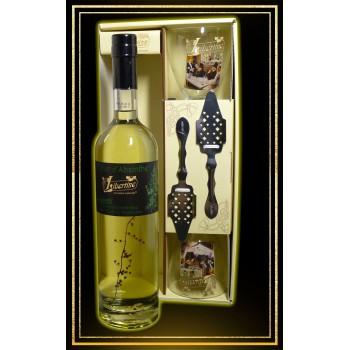Coffret cadeau Libertine Fleur d'Absinthe 70cl 2 verres et 2 cuillères