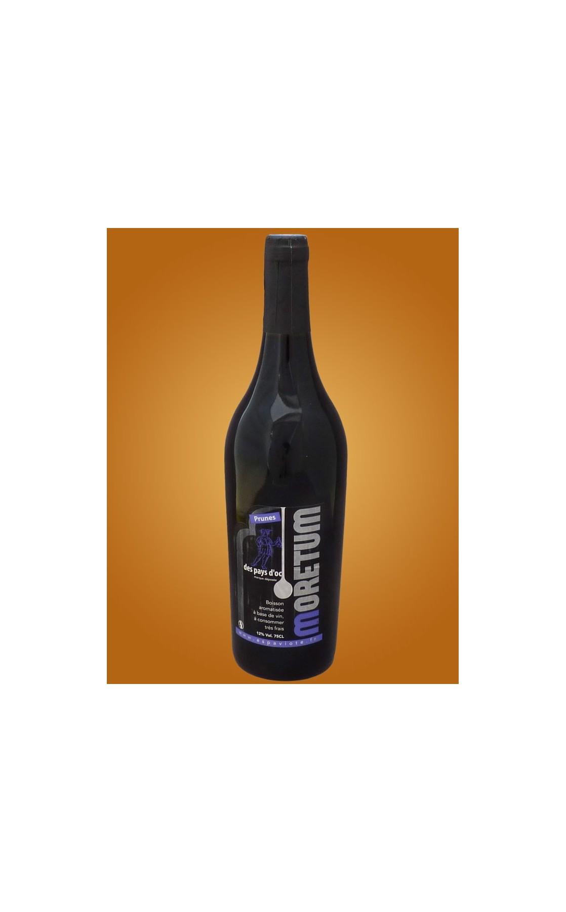 Moretum à la prune noire - vin médiéval - 75cl