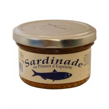 Sardinade au piment d'espelette 90g